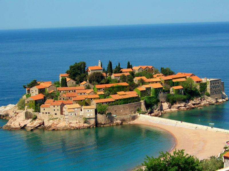 Sveti Stefan - Sveti Stefan apartments NR Lux/Comfort Two-Bedroom Apart with Sea View - Sveti Stefan - rentals