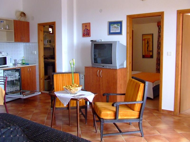 NR LUX-Comfort Two-Bedroom Apartment with Sea View - Image 1 - Sveti Stefan - rentals