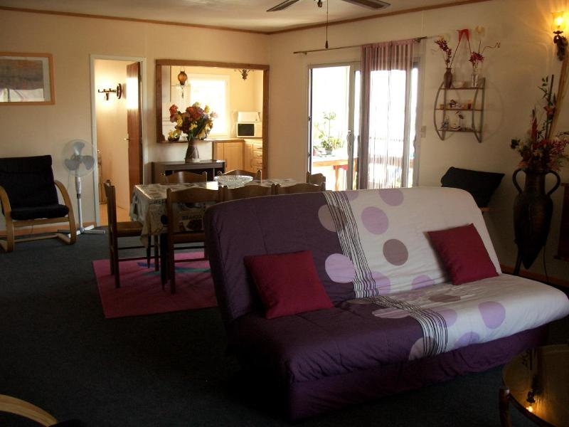 living room - Apartment 100sqm Aude region at Gruissan-plage - Gruissan - rentals