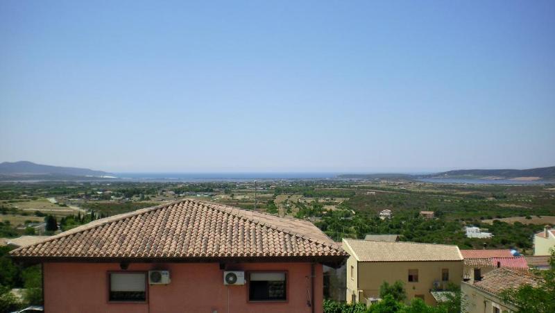Vista dal balcone delle  camere da letto - Casagranell - Sant'Anna Arresi - rentals