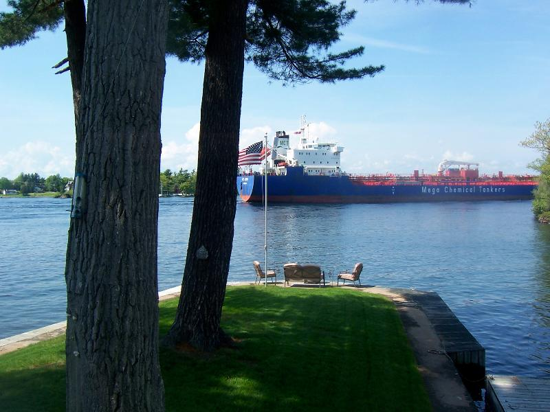 Main Channel View - Vista Point on the Main Channel - Thousand Island Park - rentals