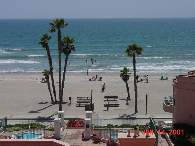 View from our living room - San Miguel Serentiy - Oceanside - rentals
