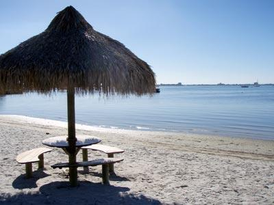 View from beach front across the bay - Beach Life - picture post card views & sunsets! - Saint Petersburg - rentals
