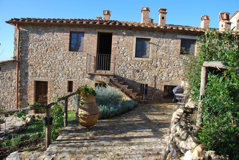 Casa Bartoli - Casa Bartoli at Borgo Mummialla-your Tuscan home ! - San Gimignano - rentals