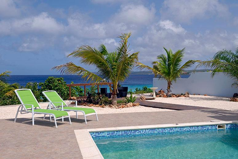 Oceanfront Vill with Beach Access and Private Pool - Image 1 - Bonaire - rentals