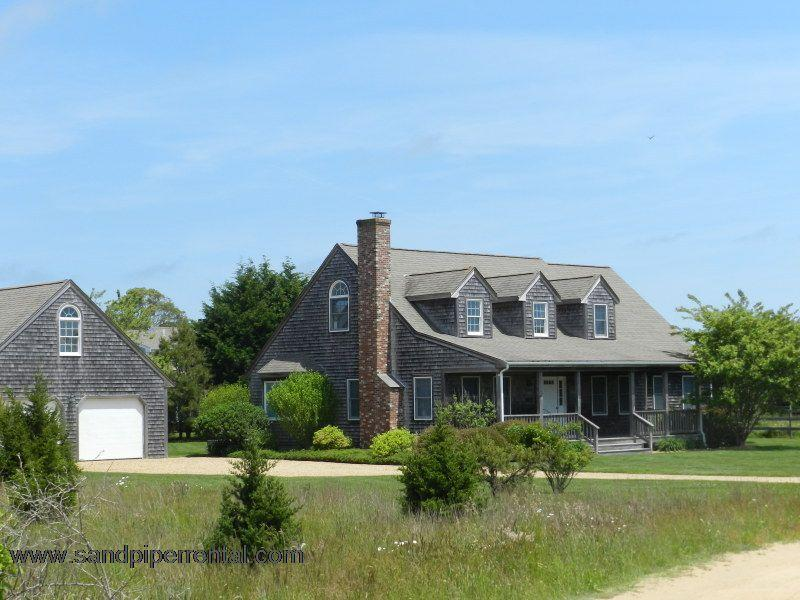 #7175 A beautiful field setting across from the bike path - Image 1 - Edgartown - rentals