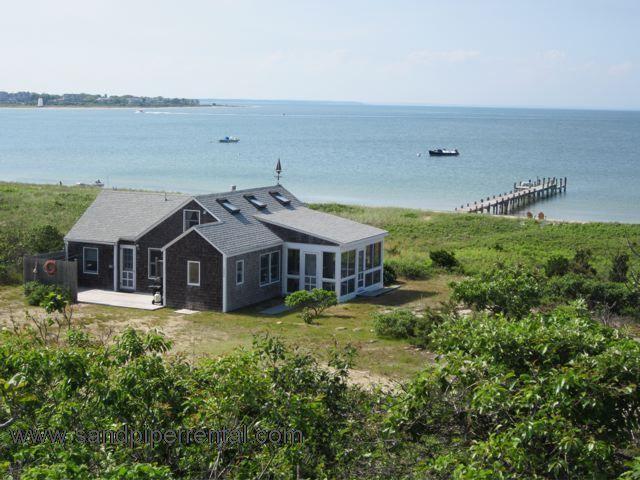 #449 Charming Chappy boat house rental W/ Dock - Image 1 - Chappaquiddick - rentals