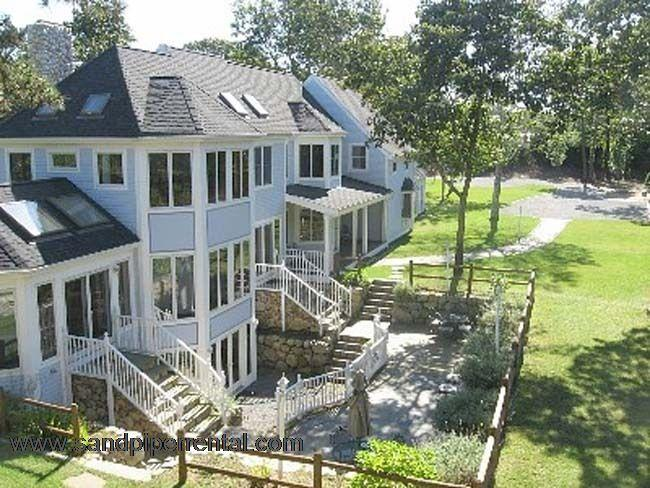 #857 1.4 Acre Home W/ Sunroom and Hot Tub - Image 1 - Oak Bluffs - rentals