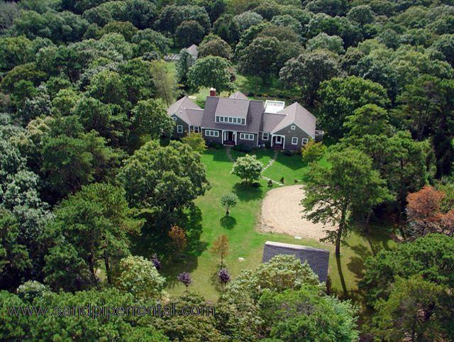#2029 Elegant Architectural Digest Cape home in Chilmark - Image 1 - Chilmark - rentals