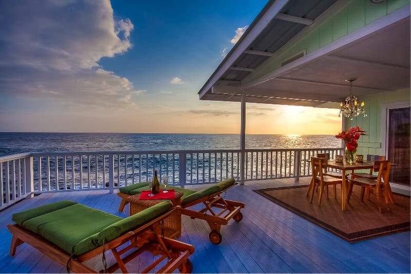 Spectacular Oceanfront Views - Stunning Kona Oceanfront Cottage - Kona Moana Hale - Kailua-Kona - rentals