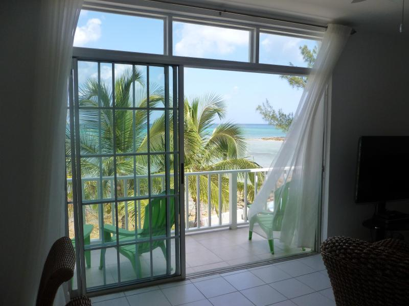 "View from Lounge - Ocean Front in Paradise ""Flamingo Cay Apartment"" - Nassau - rentals"