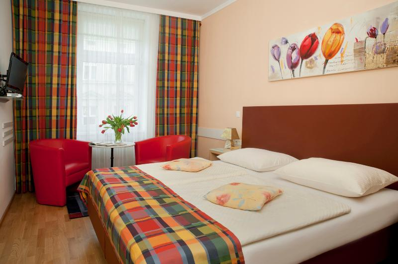 Bedroom with variant double bed - Comfortable Studio Ap5 - Vienna - rentals