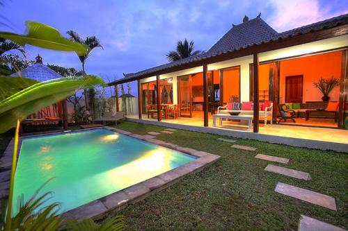Villa and Pool - Pondok Iman Real Bali in Luxury Ubud Villas - Ubud - rentals