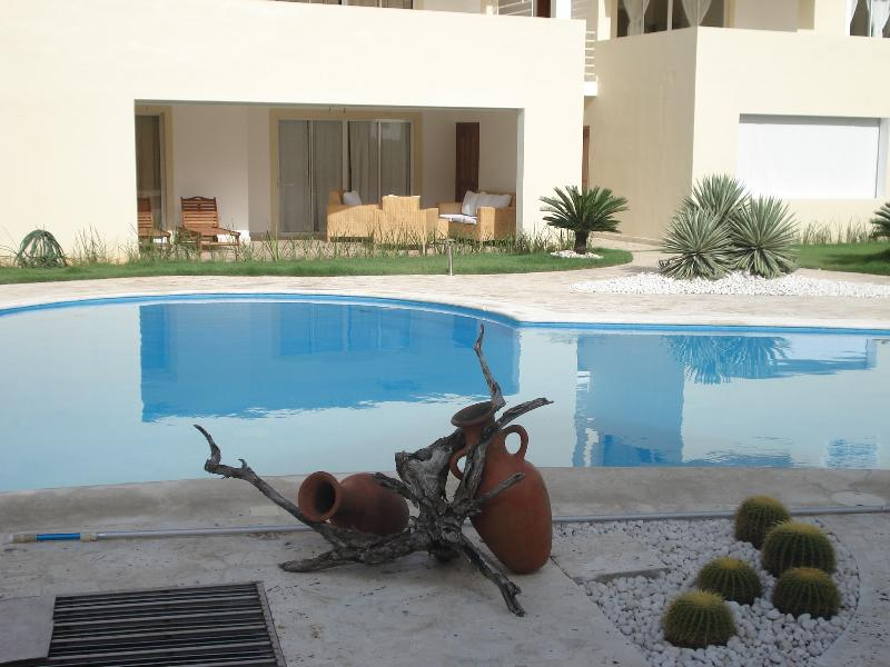 View to the apartment. - 2BR APT POOL + PRIVATE BEACH, 107 sqm - Bavaro - rentals