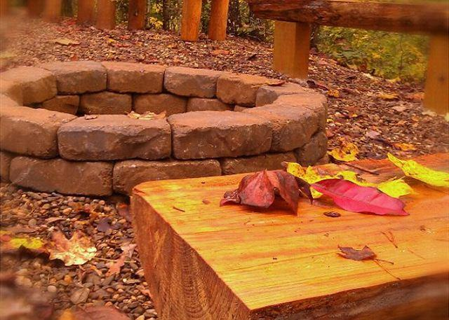 Outdoor Firepit - Secluded 1 Bedroom Near All The Fun - Image 1 - Sevierville - rentals