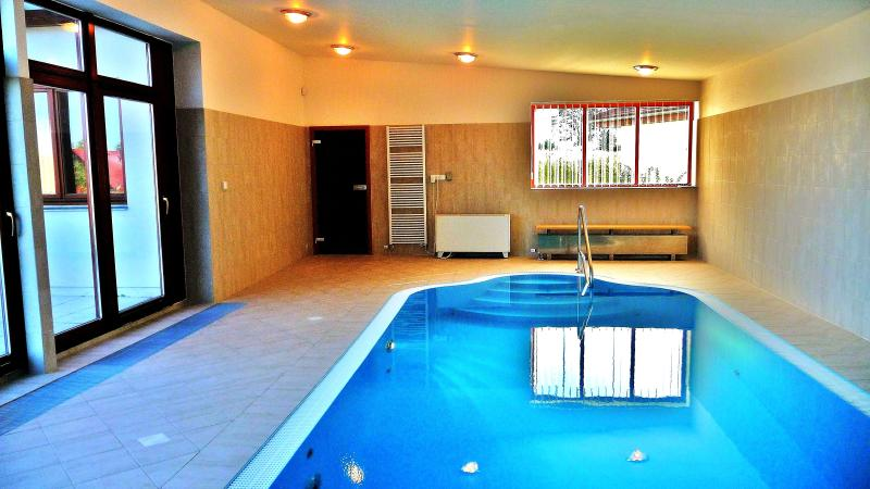 Indoor pool with airjets - Very Spacious and Luxurious (Golf/Wellness) Villa - Nova Bystrice - rentals