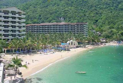 View of Beach from the condo - Oceanfront Luxury Condo at Mismaloya Condo Resort - Puerto Vallarta - rentals