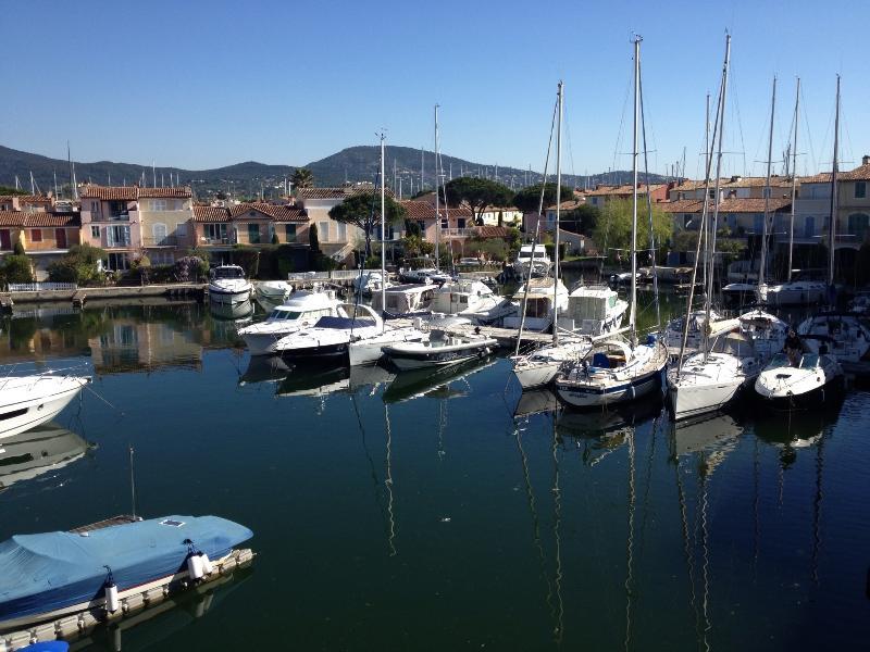 View from terrace - Romantic Appartment near St Tropez (Cote d'Azur) - Port Grimaud - rentals