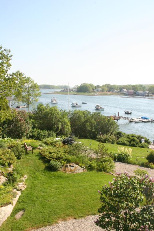 The view of the harbor from the Crow's Nest - The Crows Nest Cape Porpoise Harbor, Kennebunkport - Kennebunkport - rentals