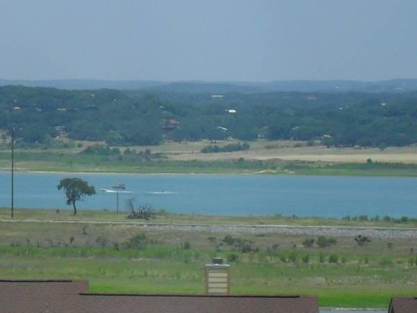 View from balcony - Condo,lake view, near marina,lake beach, rivr,pool - Canyon Lake - rentals