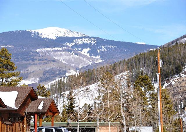 Looking back at Bald Mountain - Beautifully remodeled house 4 bedrooms 3 bathrooms - Vail - rentals