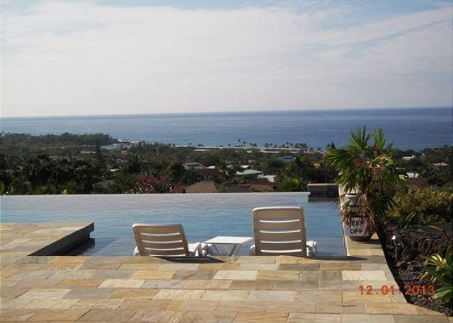 Private Infinity Pool with Coastline Ocean Views - Akoa-Gated Community 3 bedroom 3 bath Ocean View-PHAkoa - Kailua-Kona - rentals