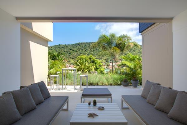 Walking distance to Shell beach, perfect for an intimate getaway. WV MIL - Image 1 - Gustavia - rentals