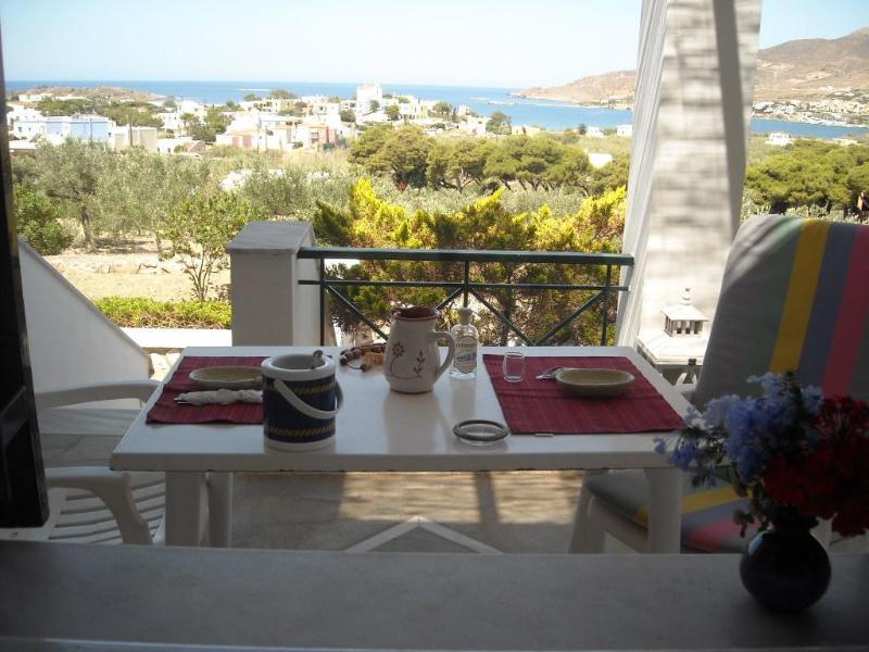 Sea view - Archipelagos apartment - 68 sq.m. - 4 adults - Ano Syros - rentals
