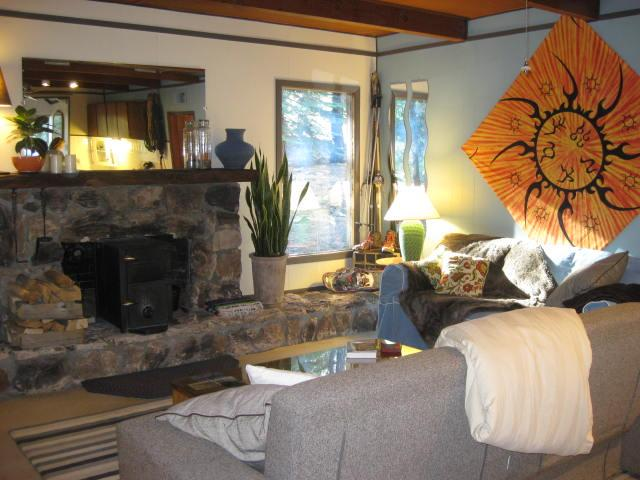 Fire up the woodstove and enjoy a bit of the good life! - The Better Base Camp - Truckee, California - Truckee - rentals