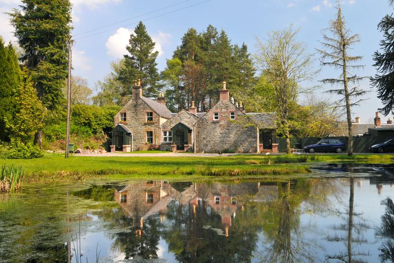 Highland Coach House is the left hand side of the buildings - Highland Coach House - Inverness - rentals