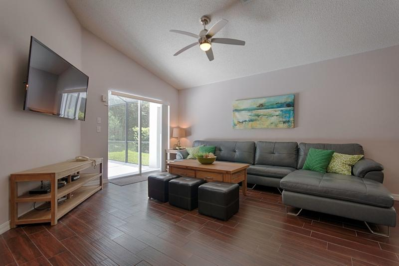 Family room - Luxury villa nature reserve view, newly renovated in Aug 2013 - Kissimmee - rentals