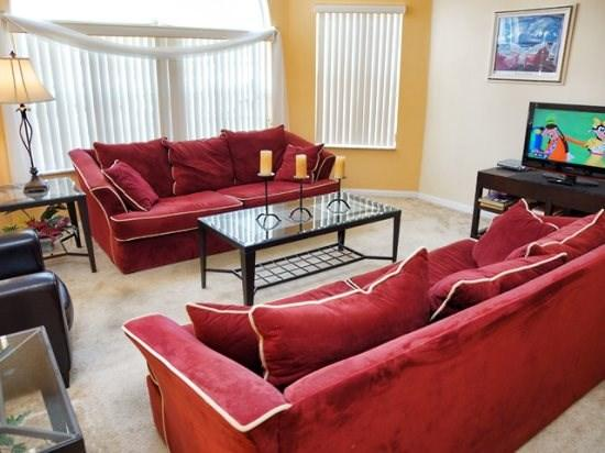 4 Bedroom 3 Bathroom Luxury Condo in Kissimmee. 8703BKB - Image 1 - Orlando - rentals