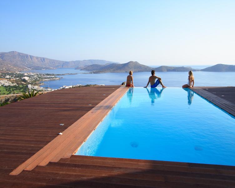 3 Bedroom Villa in Elounda - Image 1 - Elounda - rentals