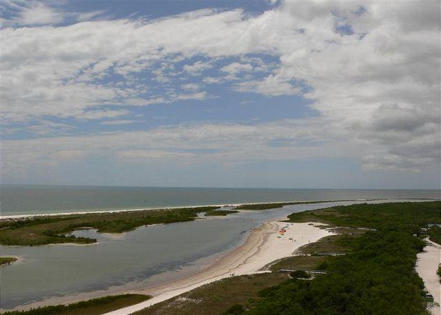 View of Tigertail Beach - South Seas Tower 4 Unit 1708 - Marco Island - rentals