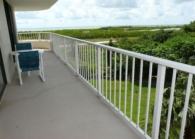 Balcony and View - South Seas Tower 4 Unit 312 - Marco Island - rentals