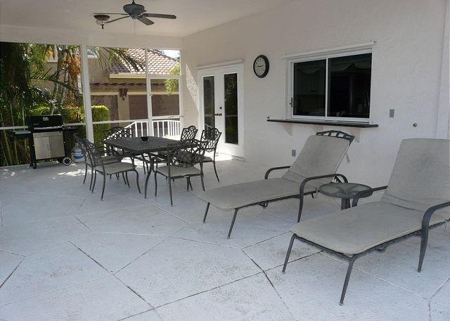 Patio - 911 Moon Court - Marco Island - rentals