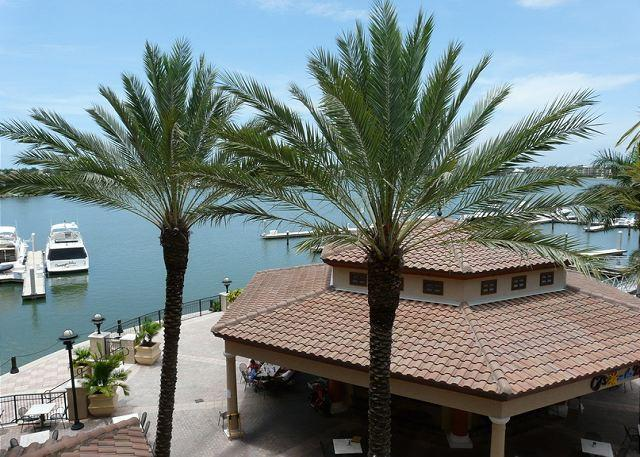 View from Balcony - Esplanade II Unit 306 - Marco Island - rentals
