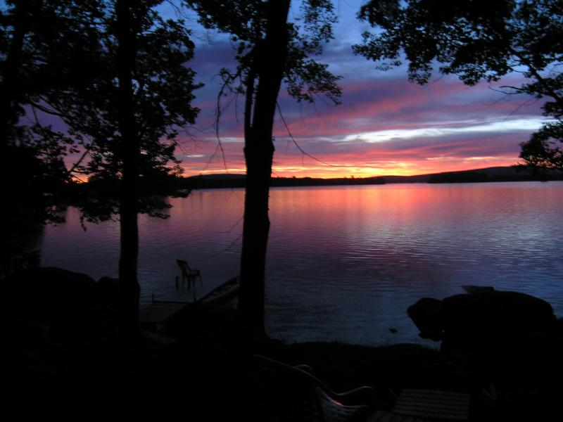 Sunrise over Great Moose Lake - Sleep in Harmony - Harmony - rentals