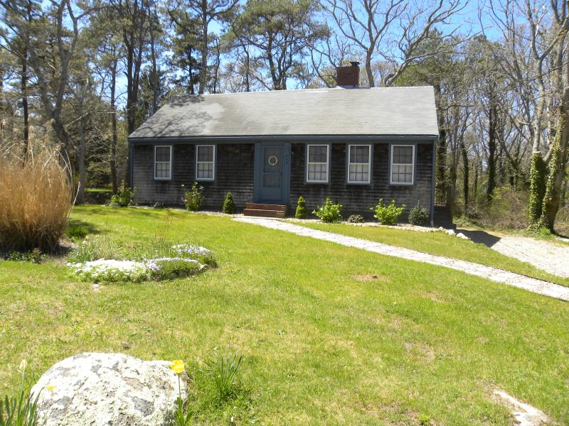Front of the house - 4 bedroom 2 bath less than 1 mile  from breakwater beach - Brewster - rentals