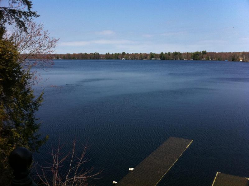 Lake view from deck - Muskoka- Lake Muskoka, Gorgeous Waterfront Cottage - Bracebridge - rentals