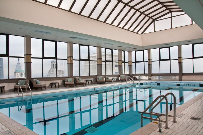 Roof Top Indoor Swimming Pool - The Best Building in Rittenhouse Square - Philadelphia - rentals