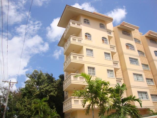 View of Balcony on 4th floor - Beautiful new large 1 bedroom near Zona Colonial - Santo Domingo - rentals
