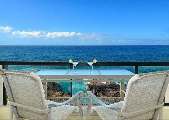 Enjoy the views and abundant sea life from the lanai of Poipu Sh - Poipu Shores 306A - Exhilarating Views from this Oceanfront 2 Bedroom Condo - Koloa - rentals