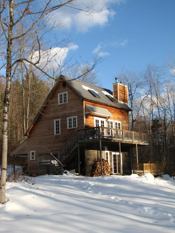WInter in Newfane - Romantic Vermont Vacation Cabin with View - Newfane - rentals
