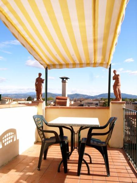 Balcony - Apartment with a wonderful balcony - Florence - rentals