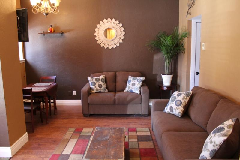 Living Room - Charming Condo On Main Street in Historic Downtown - Durango - rentals