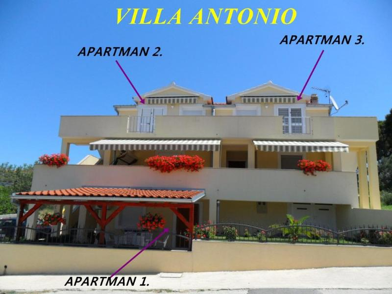 VILLA ANTONIO WITH SEE VIEW.. - Sunny New Apartment With Sea View.... - Drage - rentals