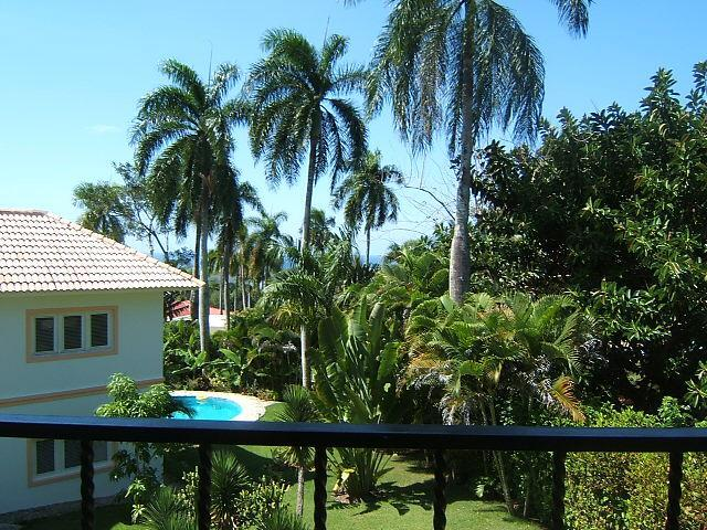 View from the balcony - Bright and Airy Studio Apartment - Sosua - rentals