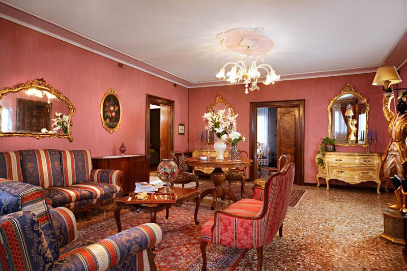 living room - Fascinating Venetian flat at Saint Mark - Venice - rentals
