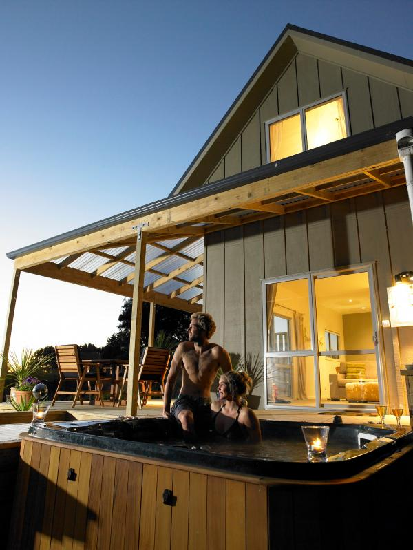Tree Tops Chalet Spa - Tree Tops Spa Chalet - Raglan - rentals